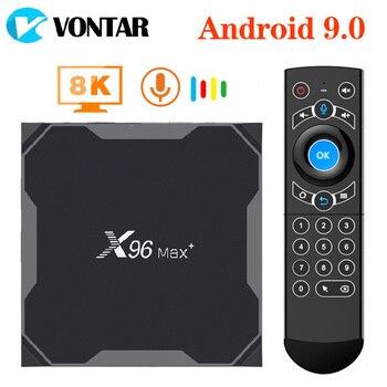 X96 Max Plus 8K S905X3 Smart TV BOX Android 9.0 TV box 4GB 64GB Media Player Dual Wifi X96 Max Set Top Box 4GB RAM 32GB