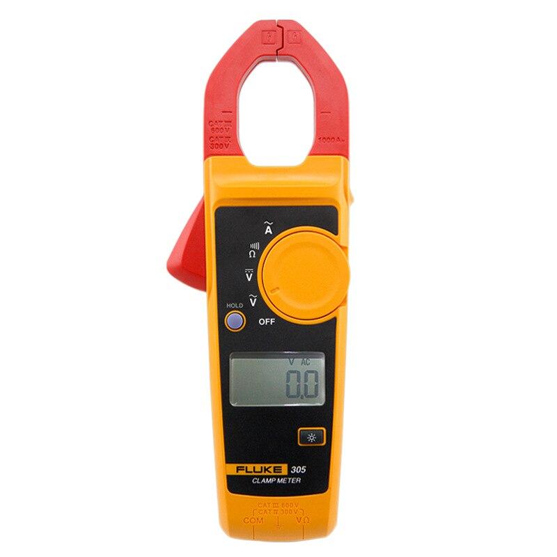 Fluke 305 pince numérique Dmm électrique Ac/Dc ampèremètre tension de courant multimètre F305