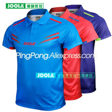 JOOLA Cologne Shirt (Star Model Aruna Quadri amp Chen Weixing) Table Tennis Jersey T-shirts for Men Women Ping Pong Clothes cheap Unisex