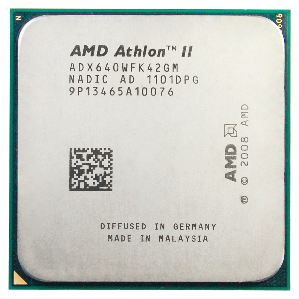 <font><b>AMD</b></font> Athlon II X4 640 3,0 GHz Quad-Core <font><b>CPU</b></font> procesador ADX640WFK42GM hembra <font><b>AM3</b></font> image