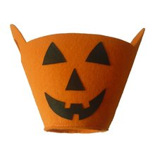 Halloween Styles Bag Parties With Bucket Pumpkin White Ghost Black Cat Gift Festival Candy