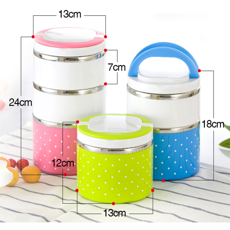 Image 3 - Hot Sale Lunch box Stainless Steel Thermal Insulation School Lunch Box Leak Proof Food Container Bento Box-in Lunch Boxes from Home & Garden