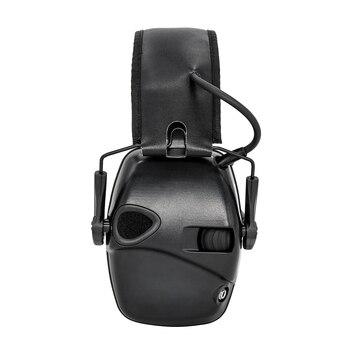 Elektronische schießen ohrenschützer outdoor sport anti-lärm verstärkung taktik jagd gehörschutz kopfhörer faltbare