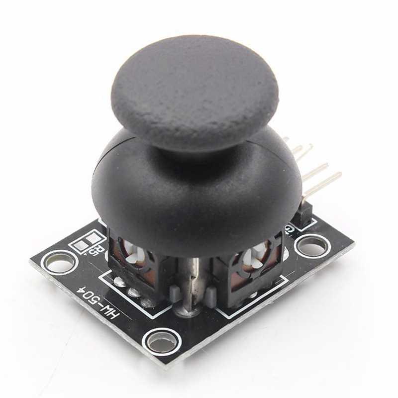 Promosi-5 Pin Breakout Modul Perisai untuk Ps2 Joystick Game Controller Pin 2.54Mm Dua Arah Rocker 10K Resistor UNTUK ARDUINO Di