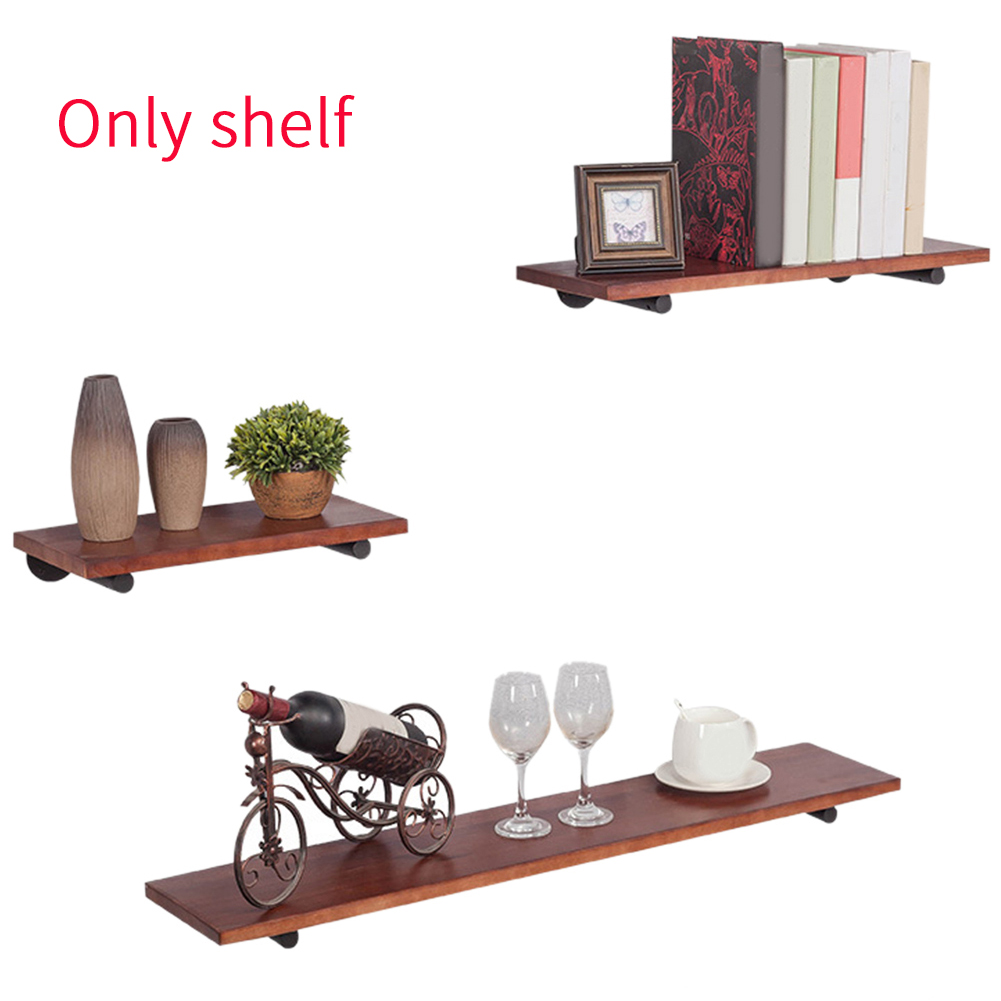 Home 3PC Set Pack Float Display Wall Shelve Mount Bookshelf Storage Holder Decor