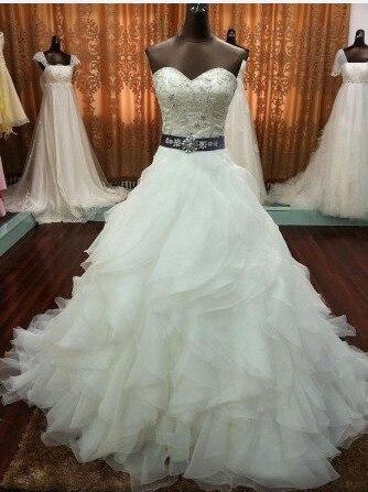 Free Shipping Real Photo 2020 Casamento Organza Crystal Sash Vestido De Novia Formales Bride Bridal Mother Of The Bride Dresses