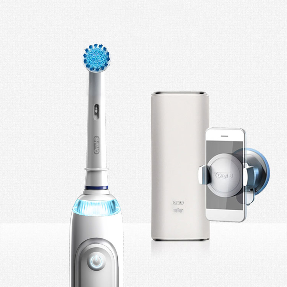 Oral B 8000 Electric Toothbrush 5 Mode Bluetooth Technology Position Detection 360 SmartRing Superior Clean Tooth Brush