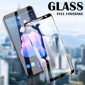 Перейти на Алиэкспресс и купить Защитная пленка на весь экран из закаленного стекла для HTC Desire 19s 12s 12 U12 U11 U19e 19 Plus U Ultra Play 10 Evo