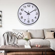 Digital Clock Wall Quartz Fashion 12 Inch Home Decoration Kitchen Ornament For Hotel Hall Livingroom Office
