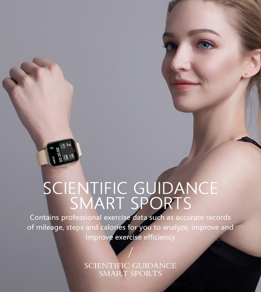 He7d4f3b797c94a589d5e8fae1b8caa16Y Full Touch Y20 Sport Smart Watch Men Women IP68 custom dial Heart Rate Fitness Tracker Smartwatch wristwatch GTS 2 P8 plus