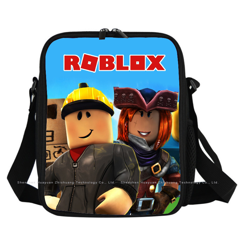 Roblox Game Design Lunch Box Waterproof Portable Insulated Lunch Bag Food Bag Picnic Bag Lunch Bag For Women And Children
