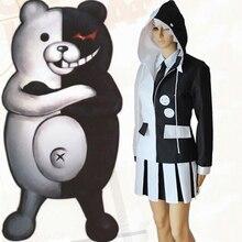 Game Danganronpa The Animation Cosplay Costumes Monokuma Costume Uniforms Halloween Party Anime