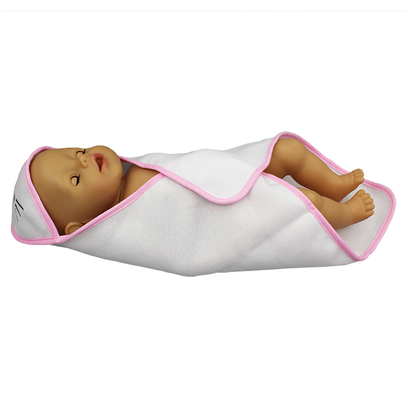 New Hold Blanket  Doll Clothes Born Baby Fit 17 Inch 43cm Doll Accessories For Baby Festiival Gift