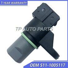Sensor de posição do eixo de manivela oem S11-1005117 s111005117