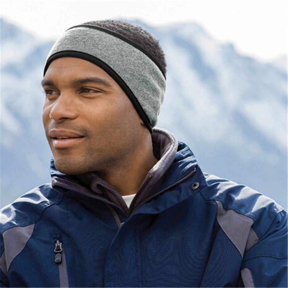 Kedap Suara Earmuffs untuk Tidur Unisex Wanita Pria Telinga Hangat Musim Dingin Kepala Band Ski Telinga Headband Rambut Band Cache- oreilles