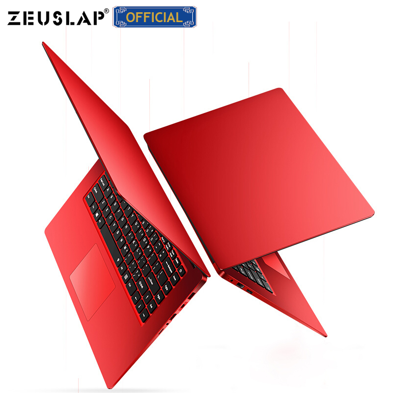 ZEUSLAP 15.6 Inch 8GB RAM 256GB/512GB SSD Notebook Intel Quad Core Laptops With FHD Display Ultrabook Student Computer