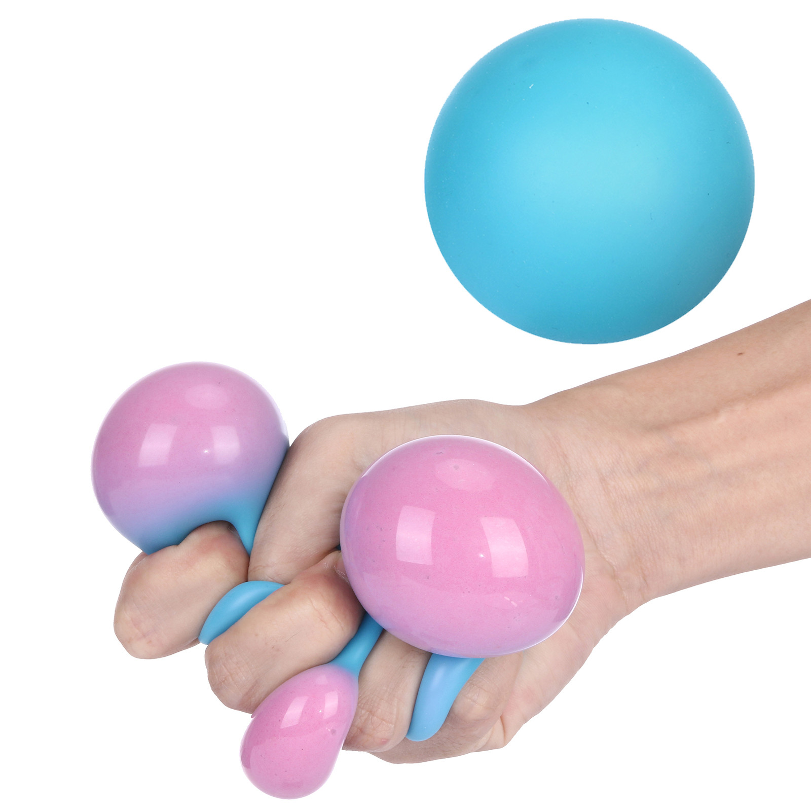 Stress Relief Squeezing Balls For Kids And Adults Toy Pressure Ball Toy Change Colour Antistress Squeeze Ball Decompression Toy img4