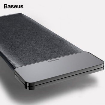 Baseus Magnetic Car Organizer Leather Car Storage Auto Pouch Bag Box Pocket Holder For Phone Card Backseat Seat Car Accessories 1
