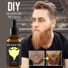 Beard Growth Oil 100% Natural Organic Beard Essential Oil for Men Beard Growth H