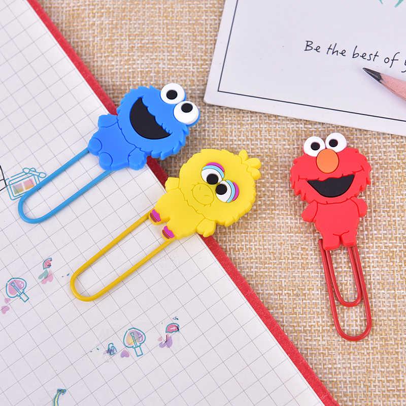 1 Uds. clips de encuadernación con Clip de papel de personajes de dibujos animados clips de papelería suministros escolares y de oficina