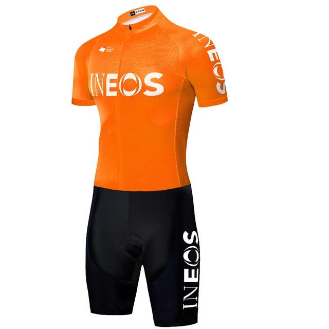 2020 equipe ineos ciclismo skinsuit men camisa de ciclismo granadier macacão corrida estrada skinsuit camisa completa ciclismo 5