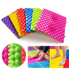 29 x 39 cm Foot Massage Pad Toe Pressure Plate Explosion Pebbles Shiatsu Blanket Yoga Mat Door Mat  Use For Work Gym Vacation