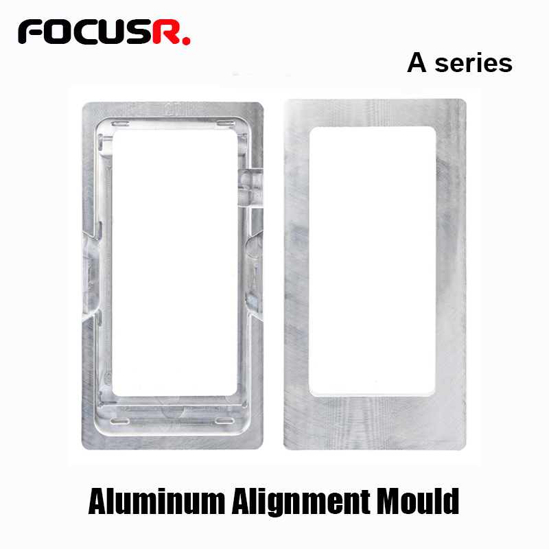 Front Outer Glass Over Lens Alignment Mold For <font><b>Samsung</b></font> <font><b>Galaxy</b></font> A3 A5 A6 A7 A8 <font><b>A9</b></font> <font><b>LCD</b></font> <font><b>Screen</b></font> refurbishing image