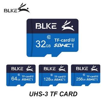 BLKE micro sd card 32GB 64GB 128GB 256GB SDXC/SDHC Flash Memory Card micro sd for Gopro/DJI/Nintendo switch