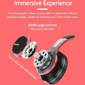 Image 3 - Lenovo Bluetooth,ワイヤレスコンピューター,ノイズキャンセル,hifi,ゲーム用の耳かけ型ヘッドセット