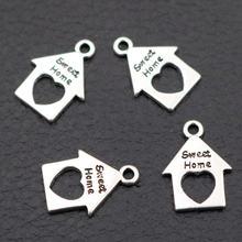 30 шт милые домашние очаровательные браслеты серьги «сделай