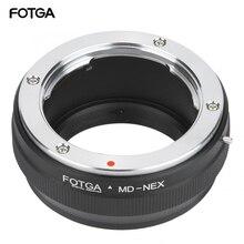 FOTGA MD NEX Objektiv Adapter Ring für Minolta MD Objektiv Fit für Sony NEX Spiegellose Kamera für Sony NEX 5C NEX C3 NEX 5N NEX 7