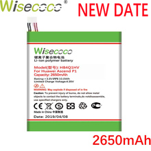 Wisecoco 2650mAh HB4Q1HV Battery For Huawei P1 U9200 T9200 U9500 D1 Mobile Phone Latest Production Battery+Tracking Number