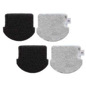 Image 1 - 2 pçs filtro apto para midea vcs141 vcs142 aspirador de pó peças acessórios casa jardim suprimentos