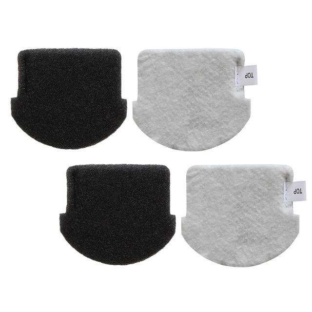 2 pçs filtro apto para midea vcs141 vcs142 aspirador de pó peças acessórios casa jardim suprimentos