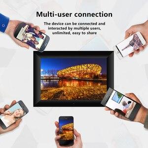 Сенсорный экран IPS для ЕС/США, P100, 10,1 дюйма, 16 ГБ, цифровая фоторамка, умная электроника, Wi-Fi, фоторамка, управление через приложение, ЖК-панель x