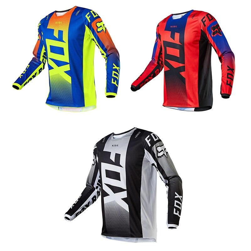 Ridefox Mountain Biking Team, MX Locomotive Jersey for Mountain Bike, Cross Country, 2021