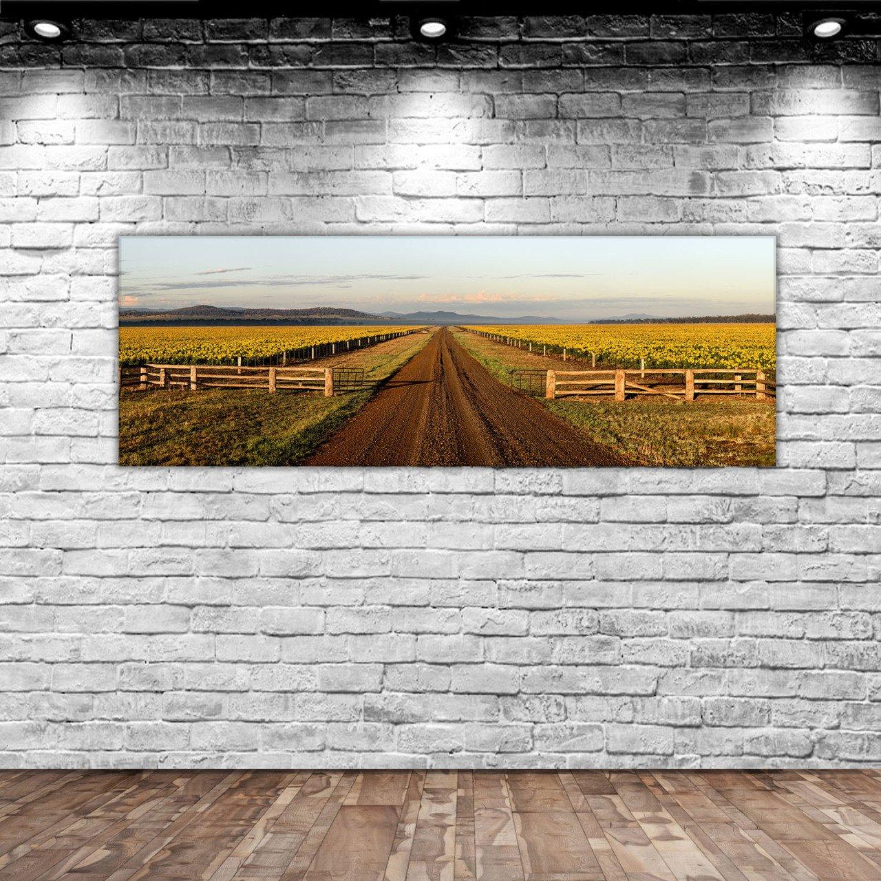BK Home Landscape Panorama Canvas Table 100x35cm-1 Modern Convenient Reliable Decoration Gift Quality Design Simple Vicinity
