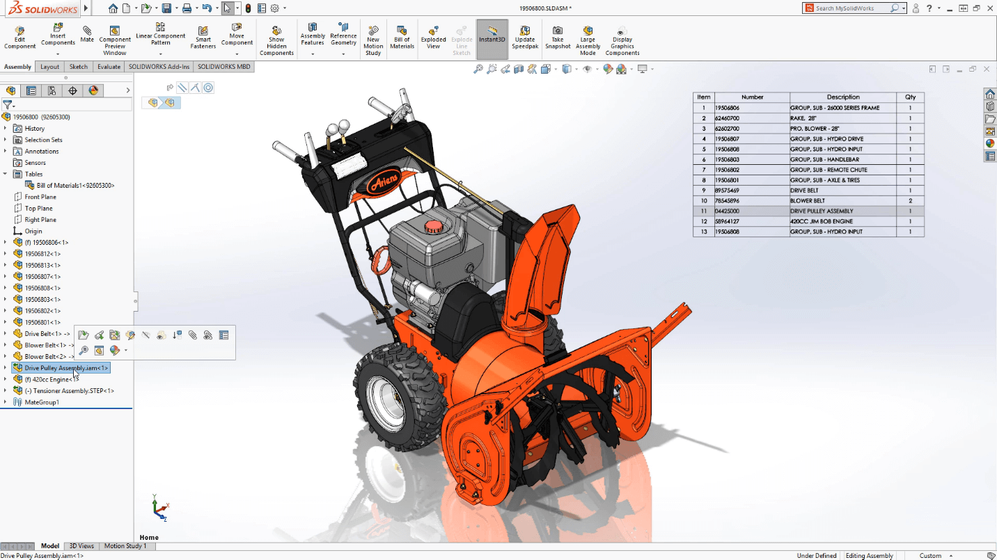 SolidWorks 2018/2019/2020 SolidCAM Camworks Three-dimensional Mechanical Design
