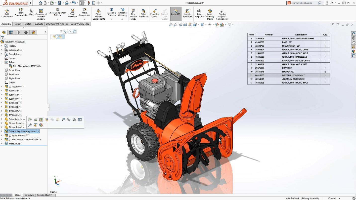 SolidWorks 2018/2019/2020 SolidCAM Camworks Three-dimensional mechanical design
