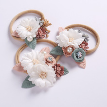 Headband Princess Elastic Florals Newborn-Baby Kids Fashion Child Cute Pearl 1pcs Gifts