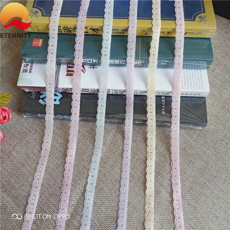 S1387 1 см кружевная лента, двусторонняя вышитая сетчатая кружевная отделка, тканевая лента, «сделай сам», швейная юбка, аксессуары