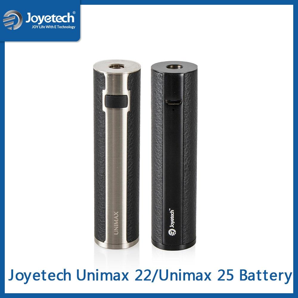 Big Sale Original Joyetech Unimax 22/Unimax 25 Battery Built-in 2200/3000mAh Battery Simple Pack Battery Mod E Cigarette