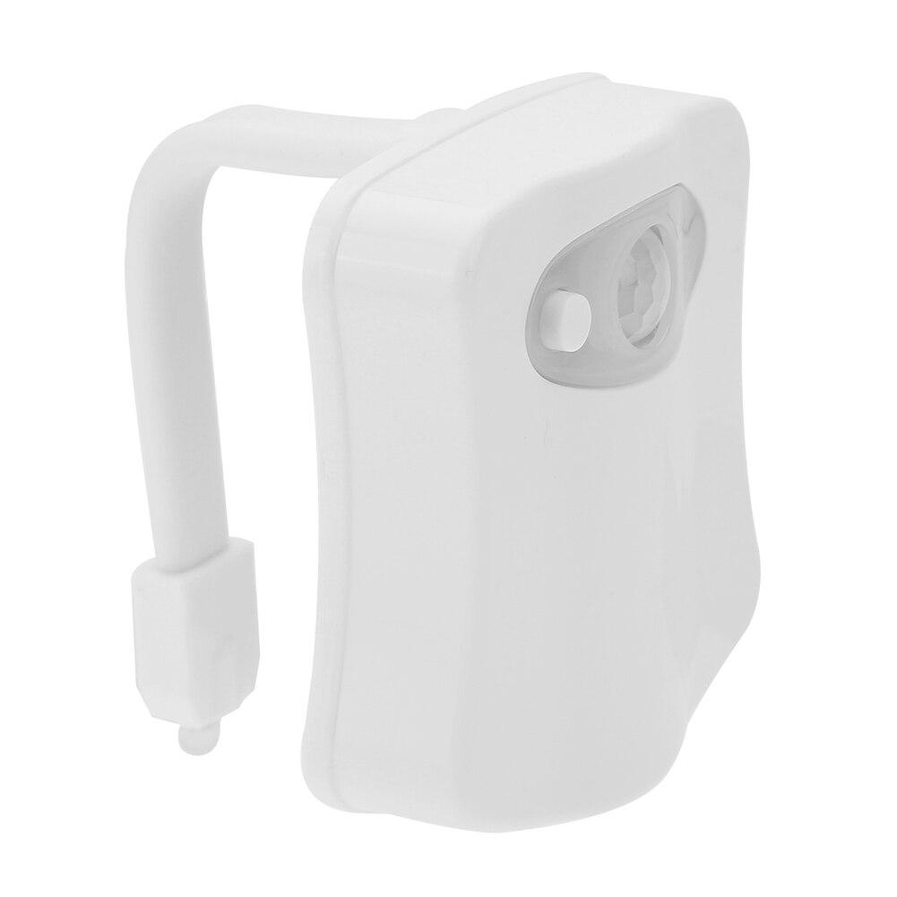 por bateria assento do vaso sanitário luz da noite decoração