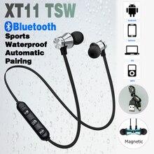 XT11 אלחוטי אוזניות Bluetooth 5.0 עסקים עמיד למים אוזניות ספורט אוזניות מוסיקה אוזניות עובד על כל טלפונים חכמים טלפון