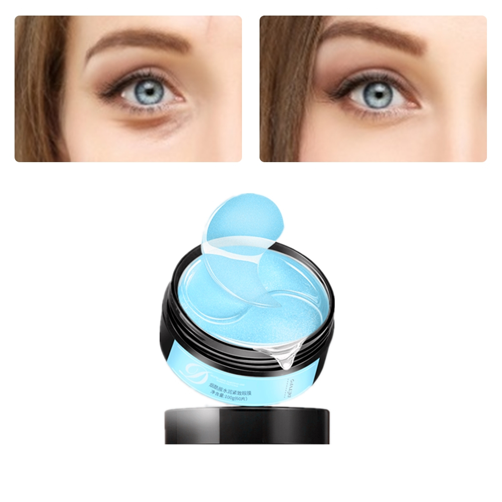 IMAGES Firming Collagen Eye Patches Promoting Sleep Relieve Eye Pressure Pads Dark Circles Moisturizing Anti-Puffiness Eye Mask