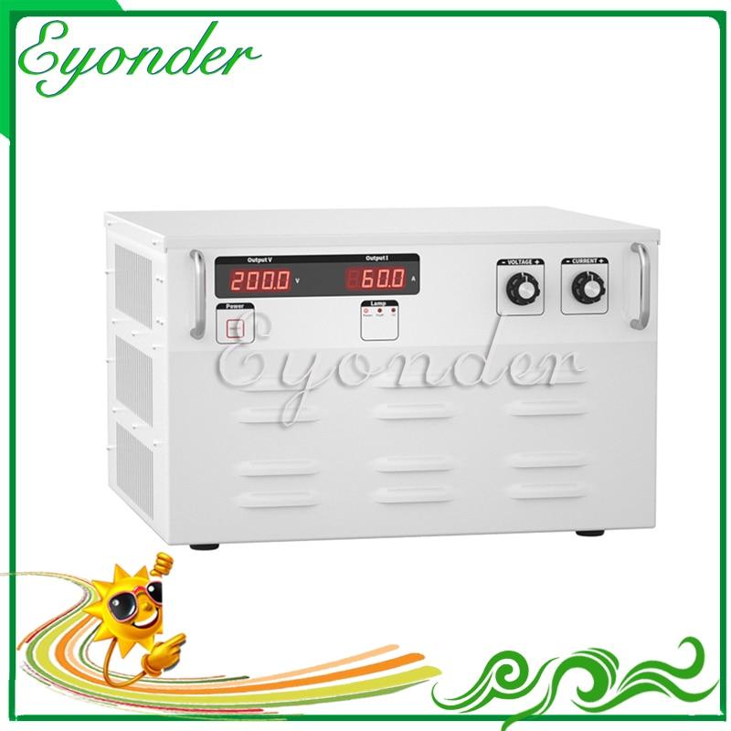 3 phase 380v ac to 120v 100a dc power supply 12000w Adjustable variable voltage regulator inverter converter