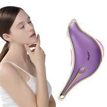 Electirc лифтинг лица шеи похудение guasha массаж вибрация нагревание