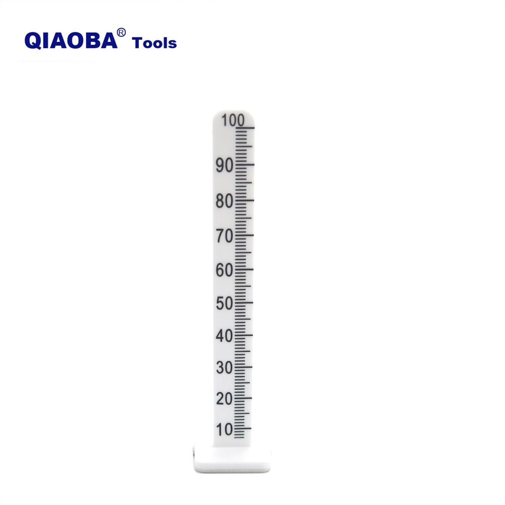 100mm White Leveling Stick Pegs For Floor Cement Measure Poured Self Leveling Pins 50 Pack