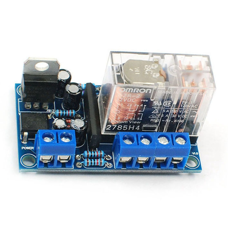 UPC1237 Speaker Protection Board Loudspeaker Protection Board Kit Part Boot Delay DC Monitor 12-24V