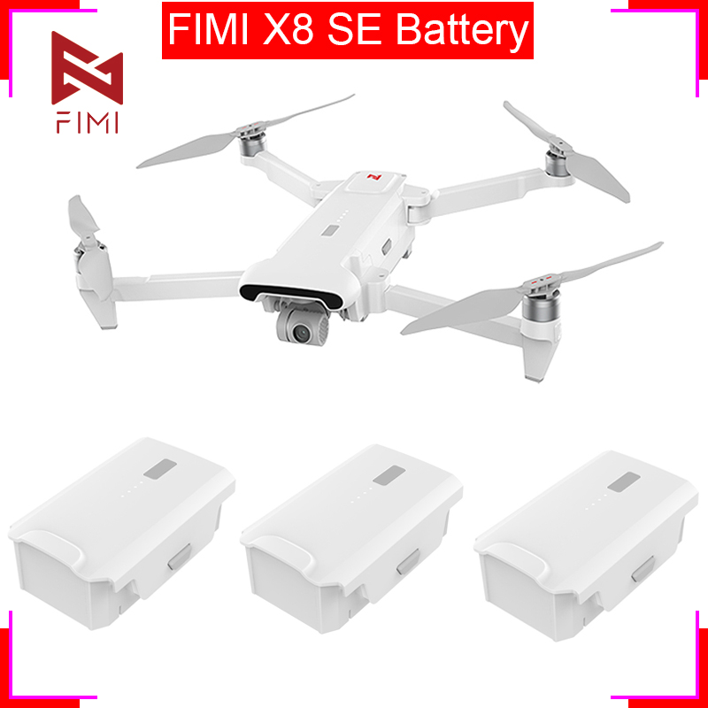 4Pcs FIMI X8 SE Drone Battery 11.4V 4500mAh Original FIMI X8se Replacement  Intelligent Flight Battery Camera Drone Accessories
